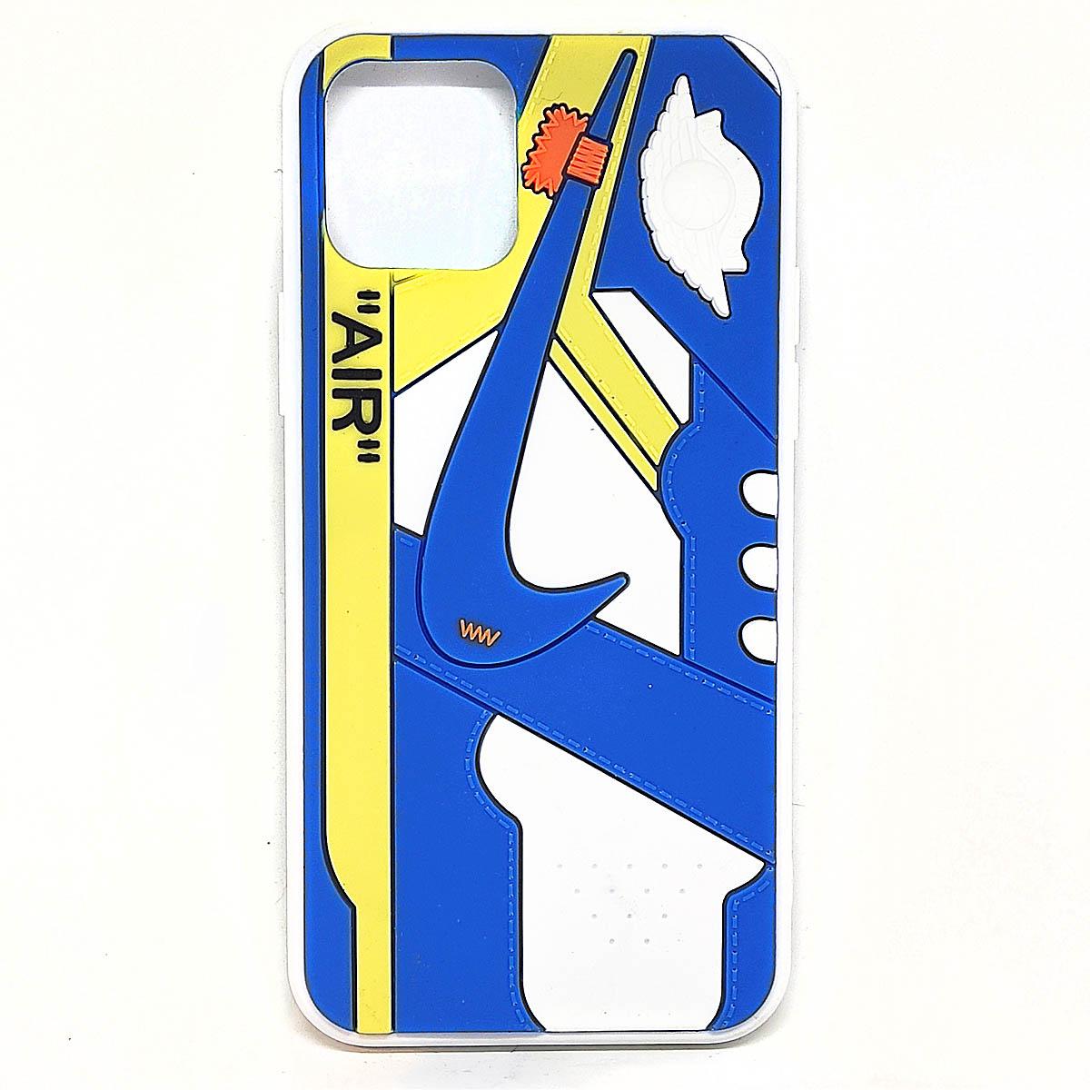 Cover AJ1 Chicago blu per iphone 11, 11 pro, 11 pro max   Blacksheep Store