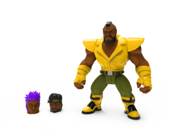 Mighty Maniax action figure: BARRICADE by Rocom Toys
