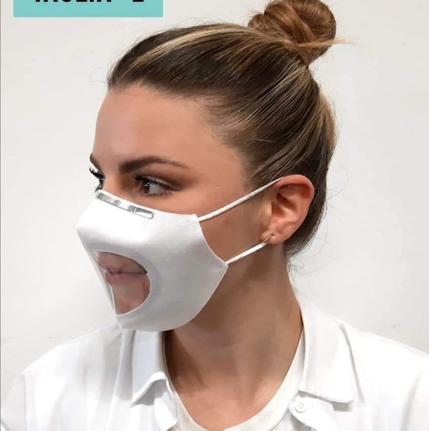 Mascherina Chirurgica Trasparente