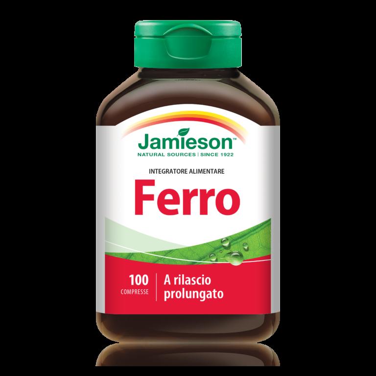 Jamieson, Ferro a rilascio prolungato 100 cpr