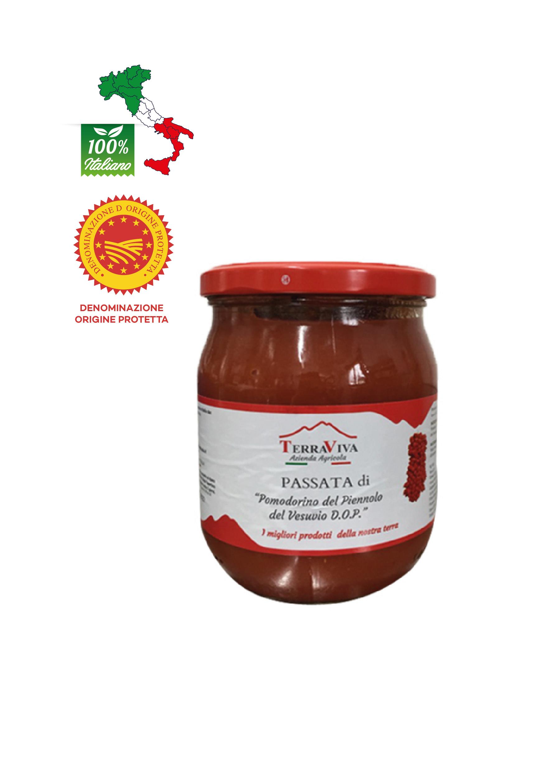 Passata di Pomodorini del Piennolo DOP gr 500