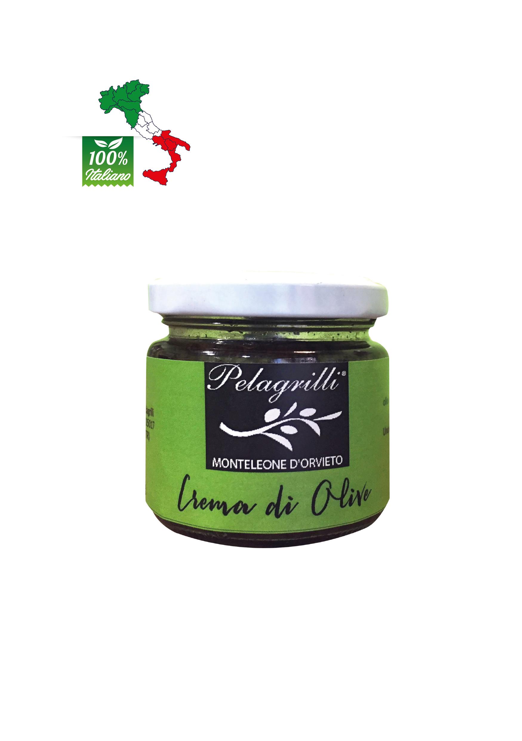 Crema di Olive vasetto da gr. 80