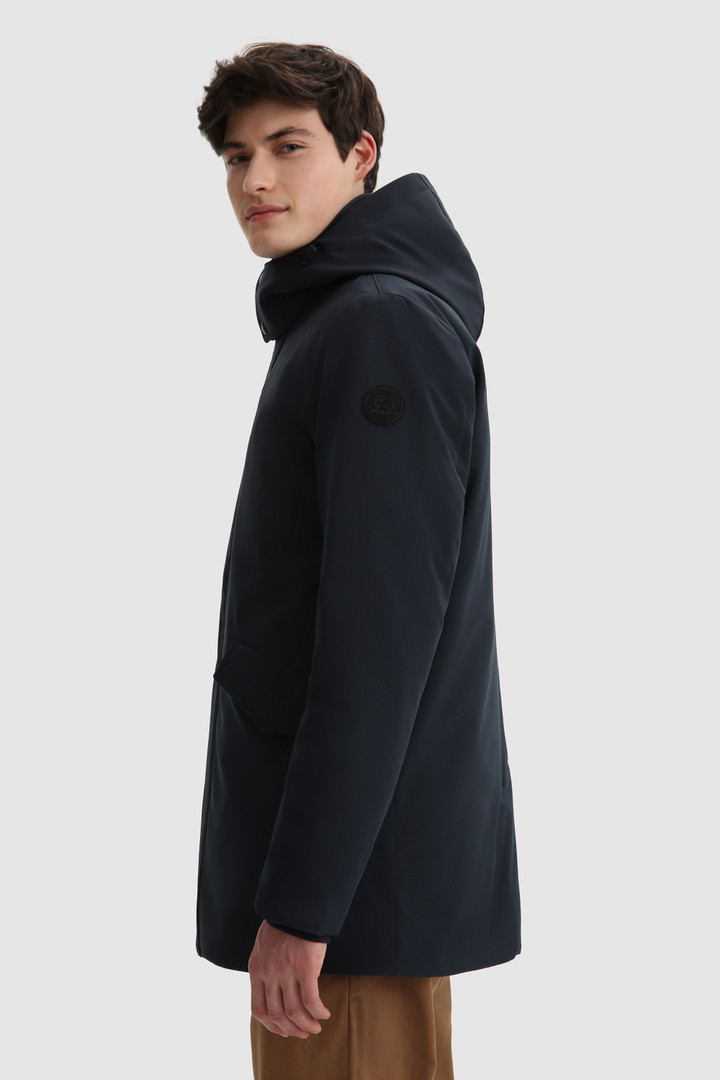 SHOPPING ON LINE WOOLRICH GIACCA BARROW MAC IN SOFT SHELL CON CAPPUCCIO REMOVIBILE NEW COLLECTION FALL/WINTER 2022