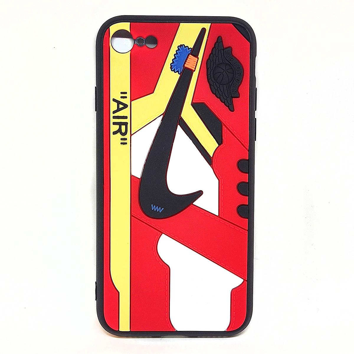 Cover AJ1 Chicago rossa per iphone 7, 8, SE2020   Blacksheep Store