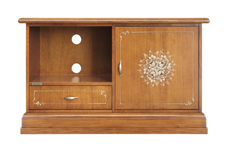 Mueble TV 1 puerta y 1 cajón – Colección Fleur