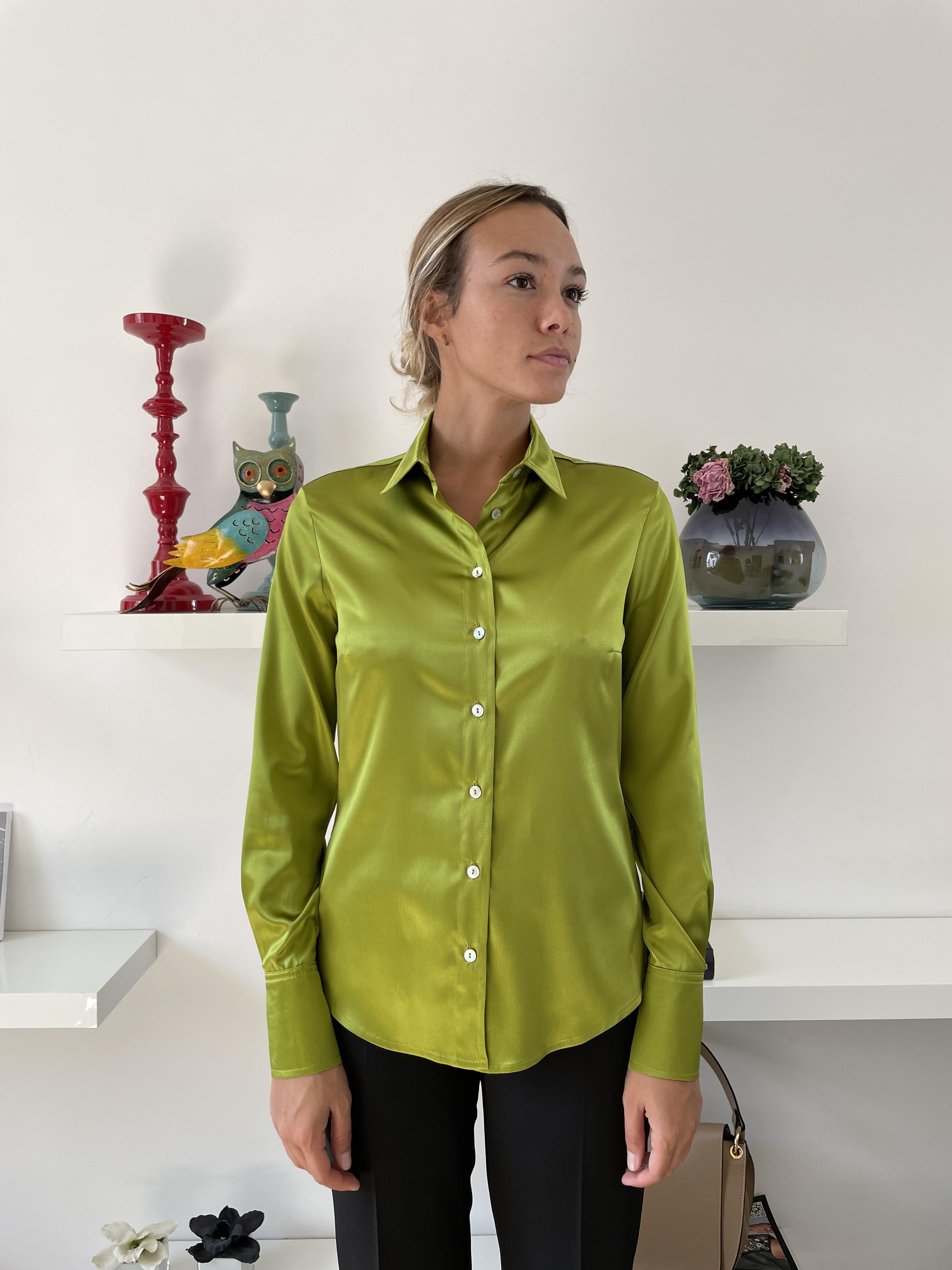 Camicia Slim Seta