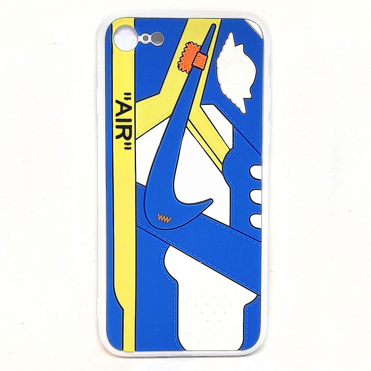 Cover AJ1 Chicago blu per iphone 7, 8, SE2020   Blacksheep Store