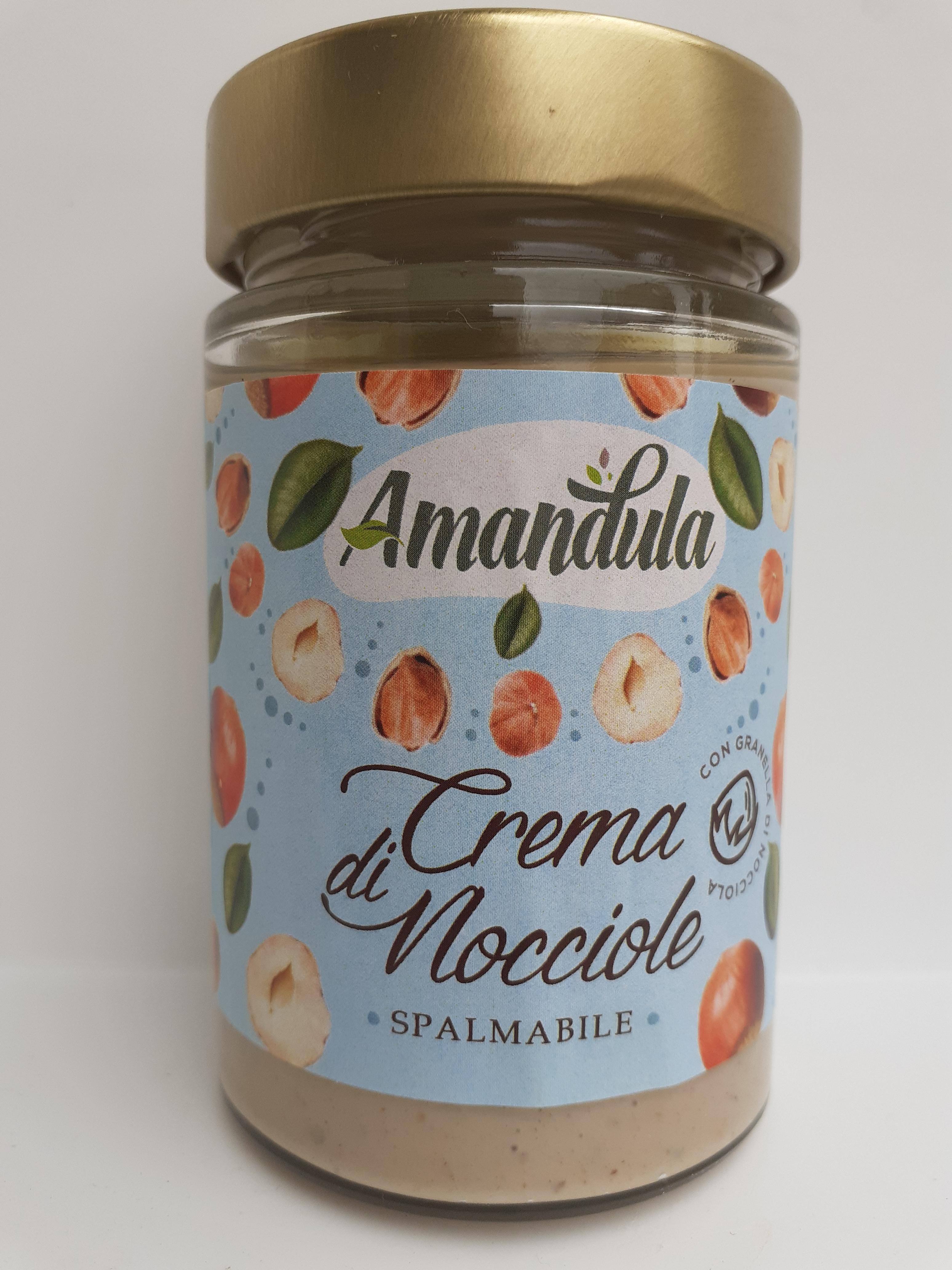 Crema di Nocciole Spalmabile 200 gr Ditta Caracciolo Di Brancaleone (RC)