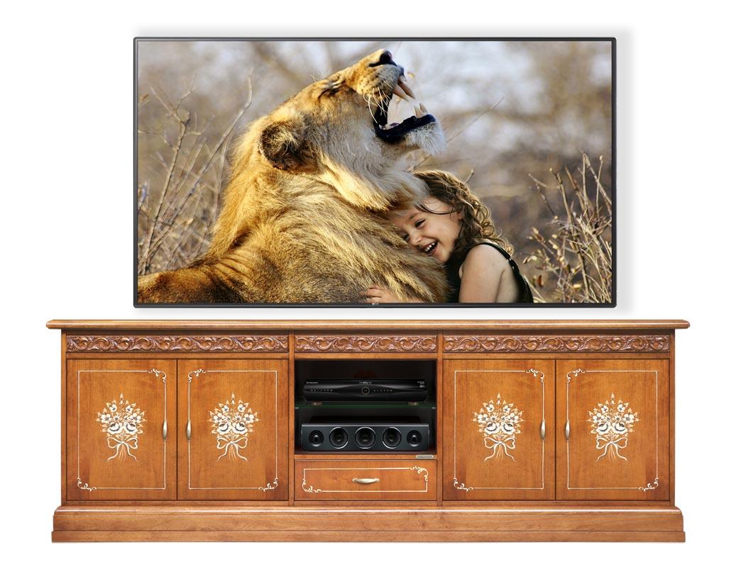 Mueble tv ancho 'Cine Classic' - Colección Fleur