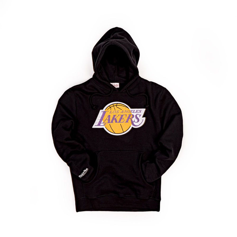 Mitchell & Ness Felpa Chenille Logo Team Lakers