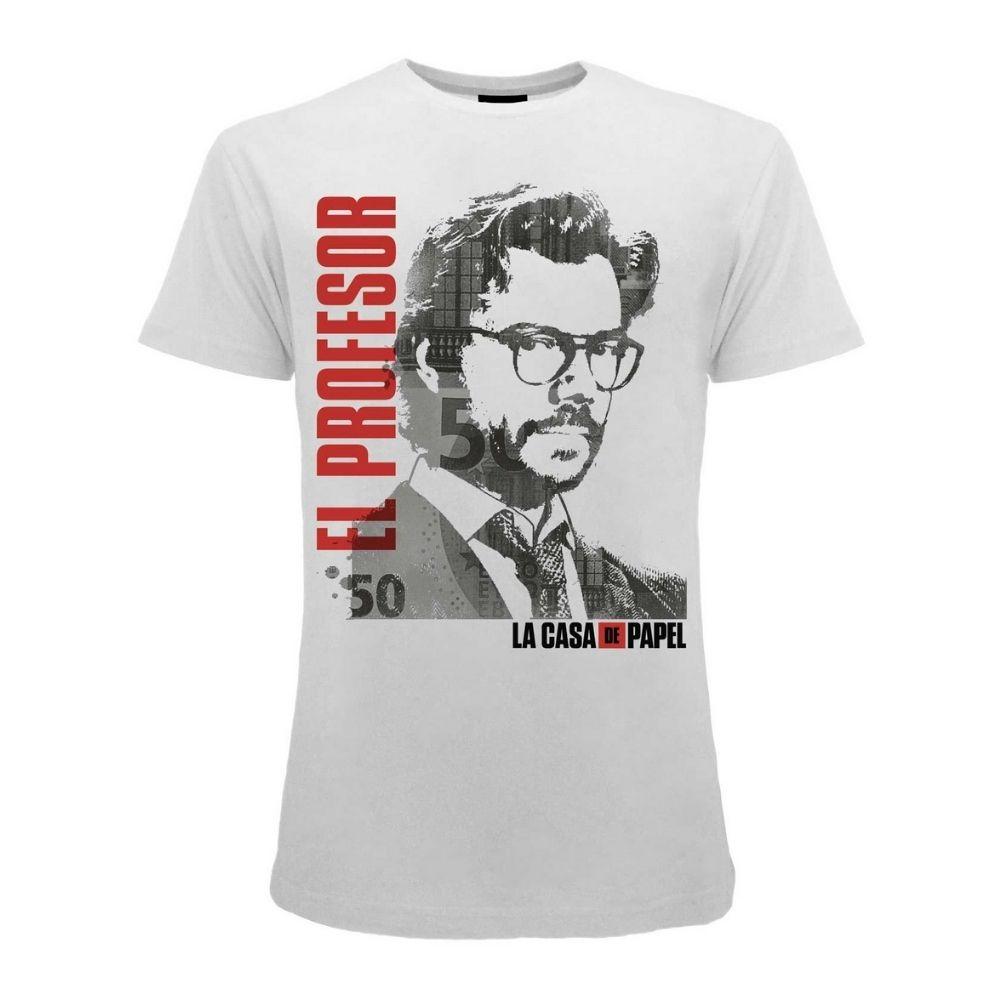 Casa di Carta - Papel El Profesor t-shirt XXS XS S M L XL XXL