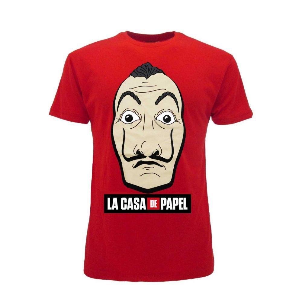 Casa di Carta t-shirt manica corta XXS XS S M L XL XXL