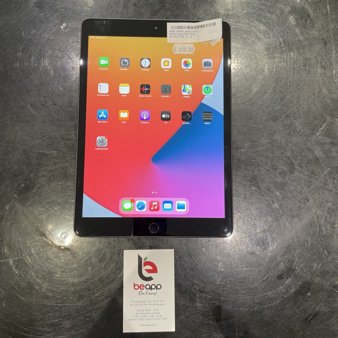 Apple iPad 2020 Wifi - (Ricondizionato)