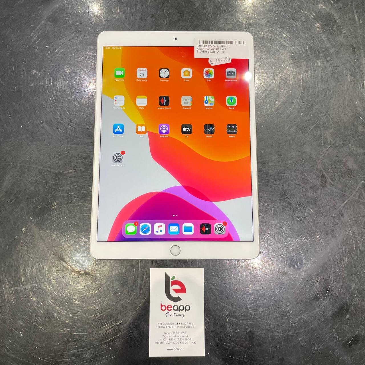 Apple iPad Air2019 Wifi - (Ricondizionato)