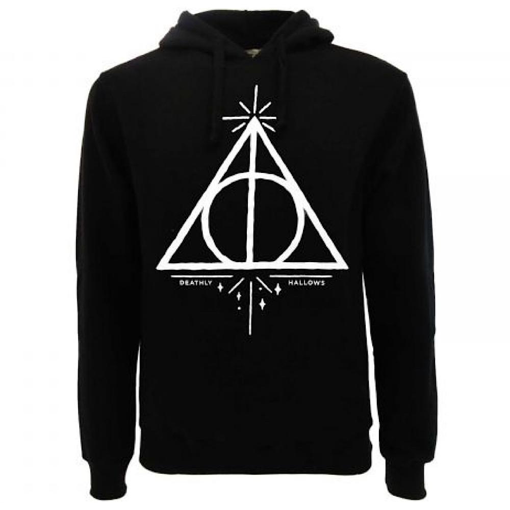 Harry Potter felpa I doni della morte dalla taglia XS alla XXL