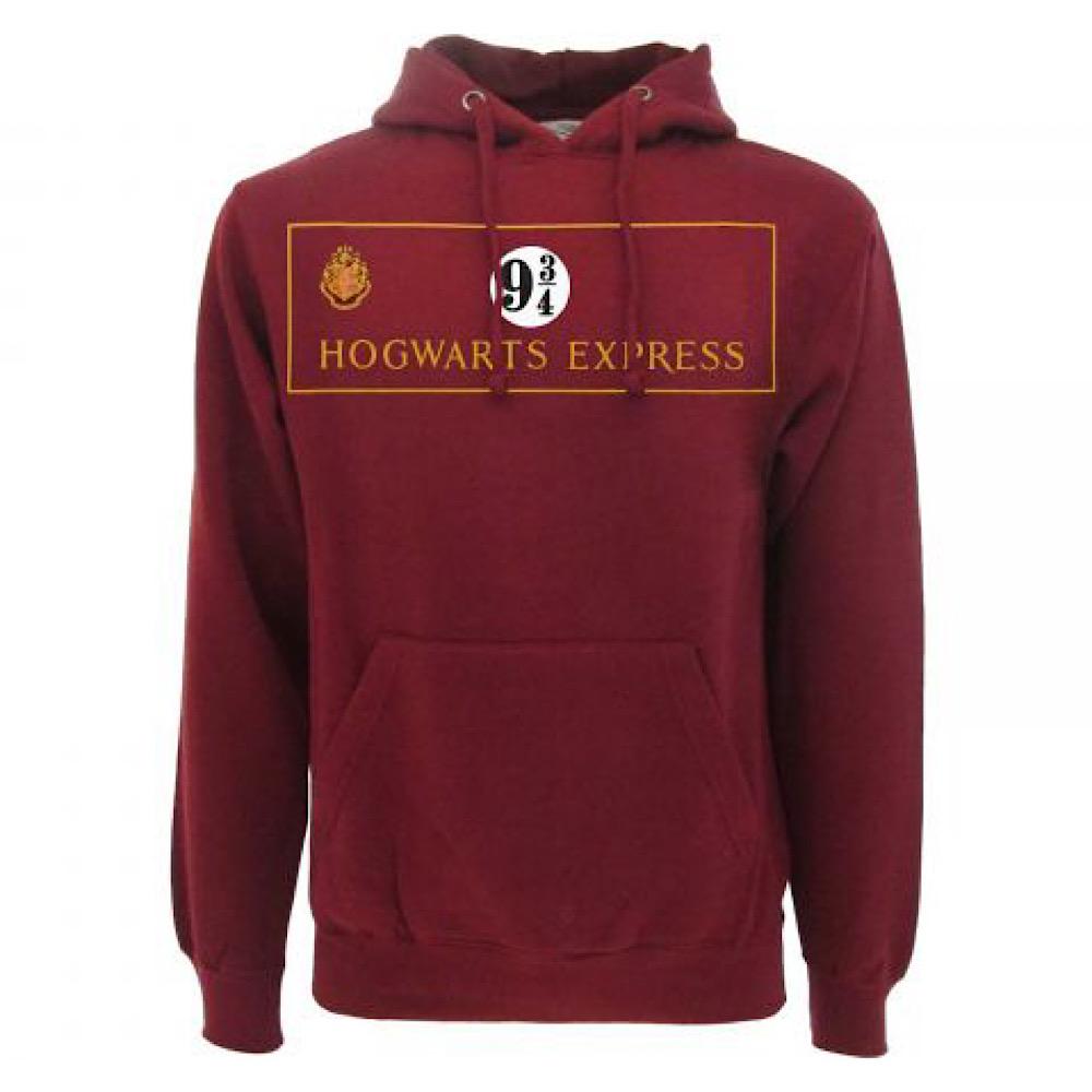 Harry Potter felpa Binario 9 3/4  dalla taglia XS alla XXL