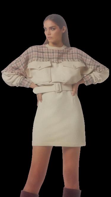 Vestito donna in maglia   Marca Jijil