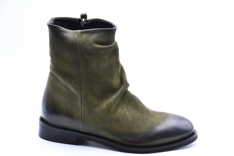 Novità A/I 2021 Metisse Calzatura Donna-Nabuck Verde TR54