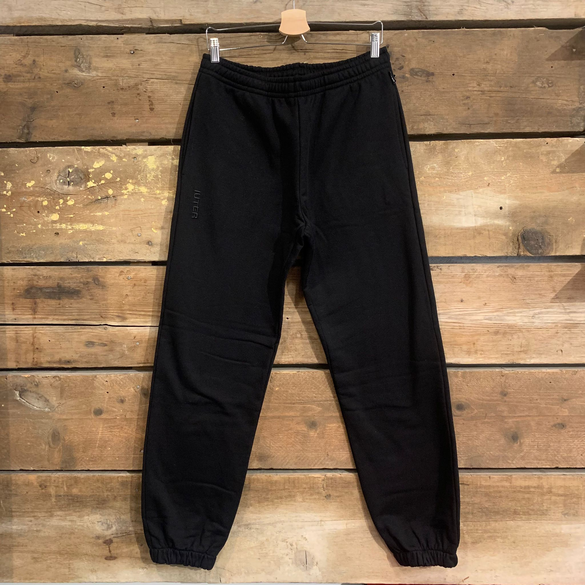 Pantalone Iuter Jogger Basic Sweatpant Nero