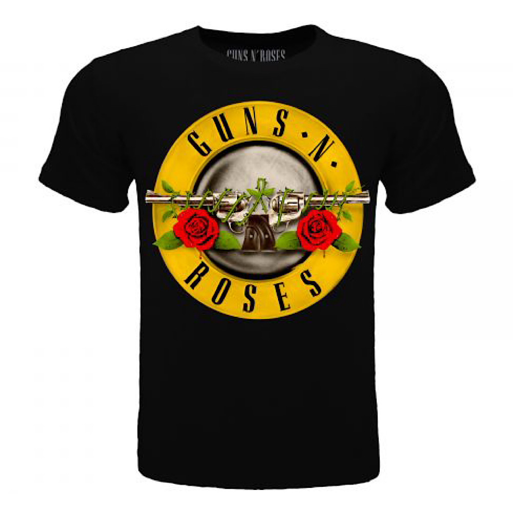 Maglietta Guns N' Roses logo da 5 anni alla taglia XXL