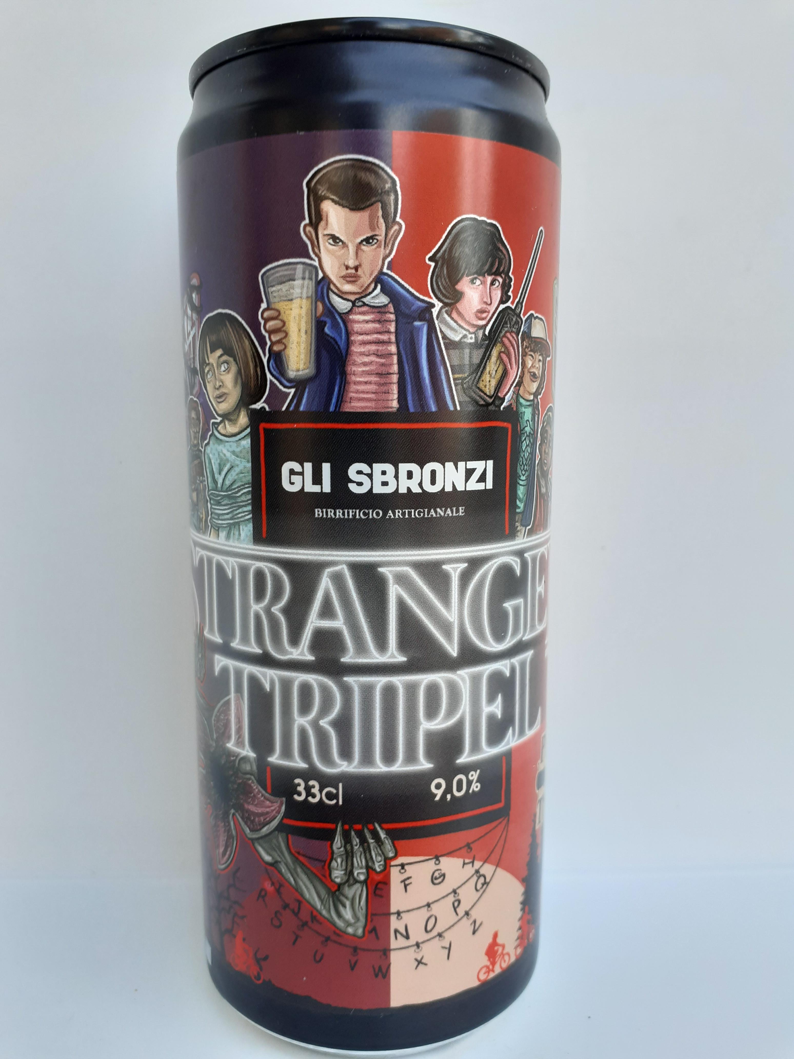 Birra Artigianale Stranger Trip non Filtrata 33 cl del Birrificio Gli Sbronzi (RC)