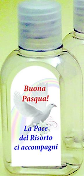 600 bottiglietta plastica 50 ml. Buona Pasqua