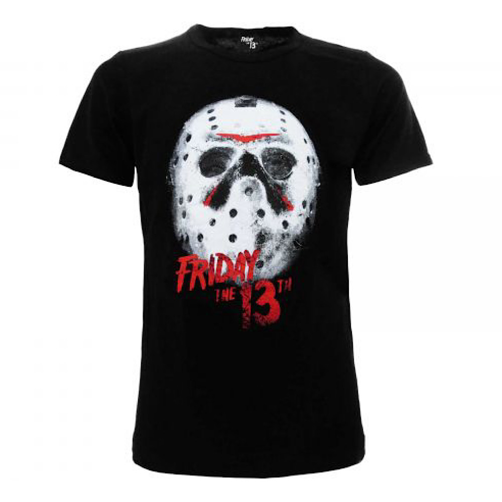 T-shirt originale Venerdi 13 Maschera taglia S XXL