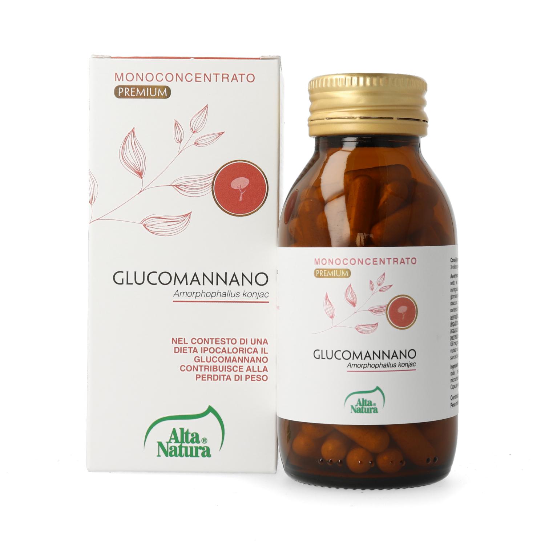 Alta Natura, Glucomannano 400 mg Terra Nata