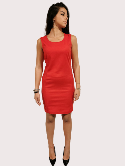 Vestito donna | Colore rosso | Marca Jijil