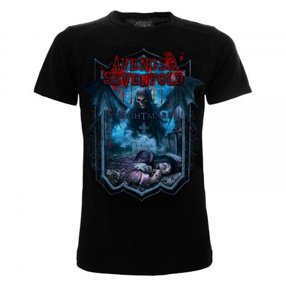 T-Shirt Music Avenged Sevenfold Nightmare XS S M L XL XXL