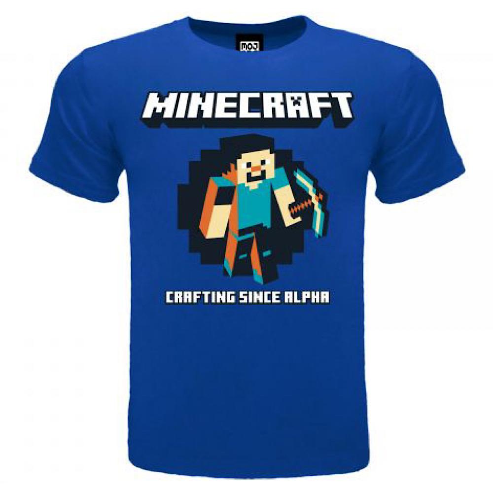 T-Shirt Minecraft Crafting since Alpha da 5 a 15 anni