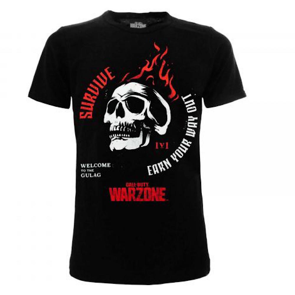T-shirt Call of Duty WZ Gulag dalla taglia XS alla XXL