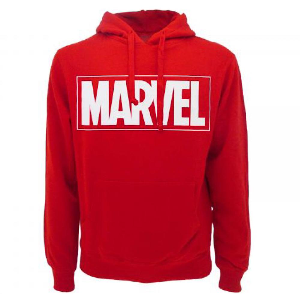 Felpa Marvel logo XS S M L XL XXL