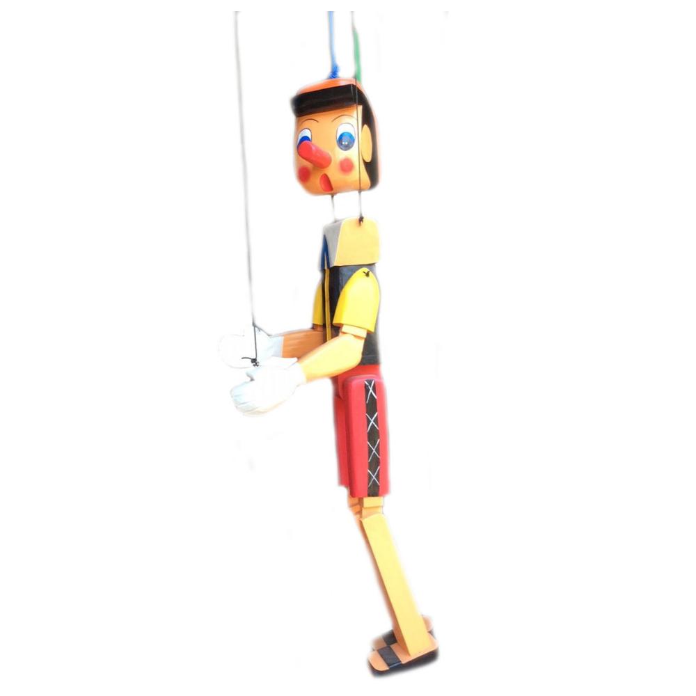 Pinocchio burattino in legno cm 155