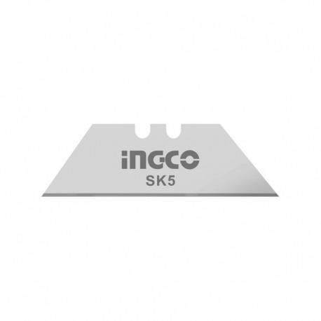 Set 10 Lame Trapezio 19x61mm INGCO