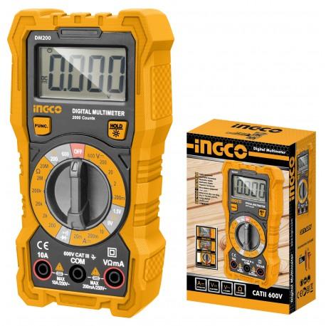Multimetro Digitale Tascabile INGCO