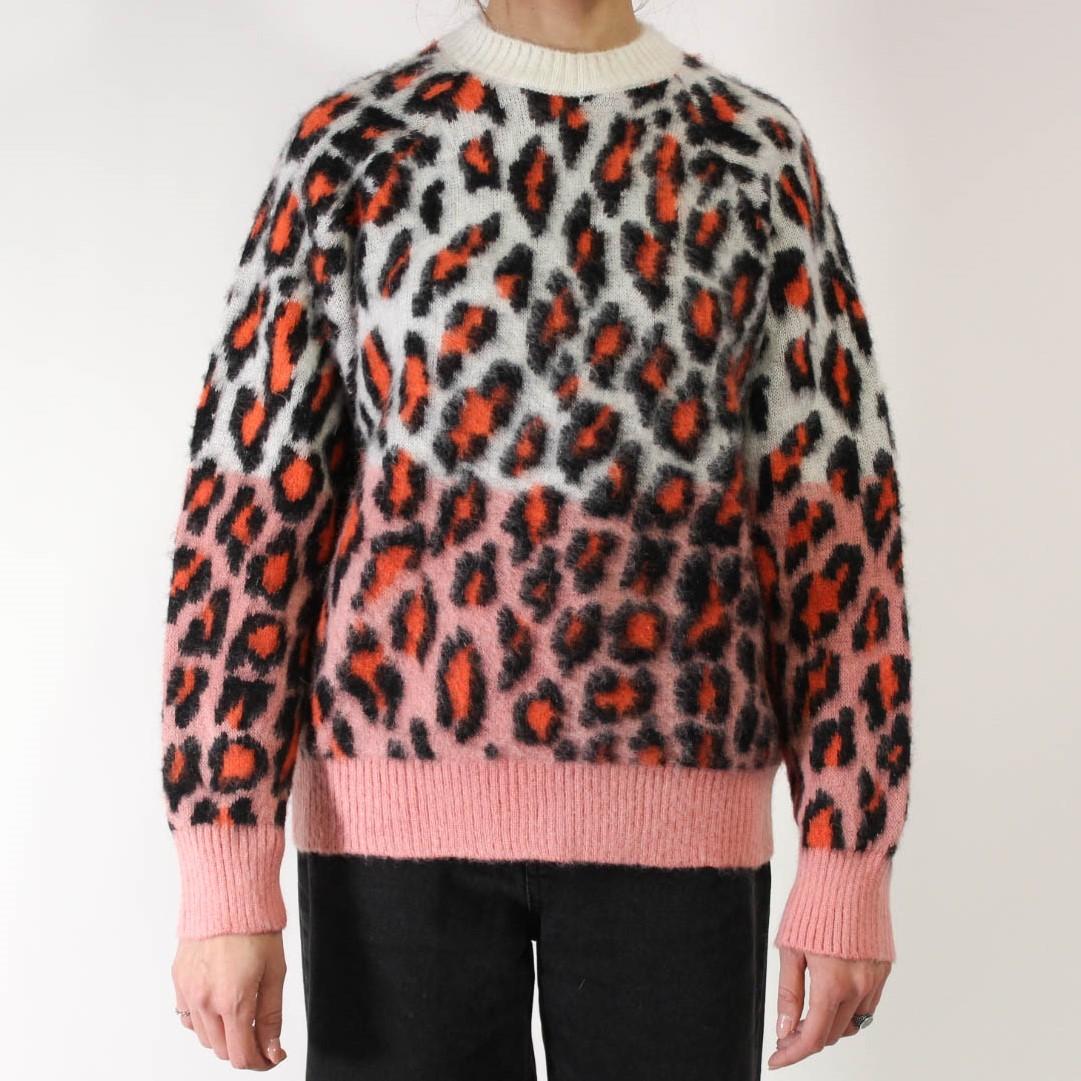 Maglione leopardato MSGM