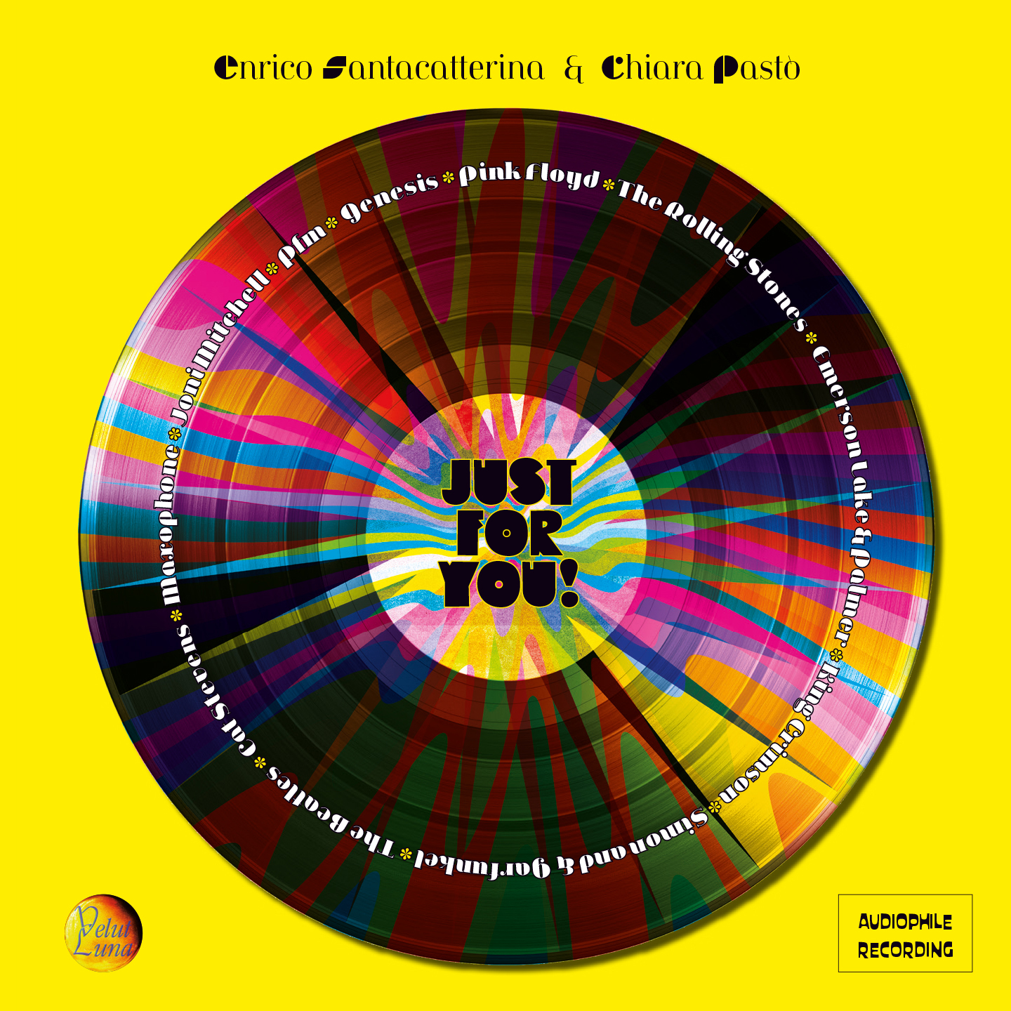 JUST FOR YOU! - singolo CD