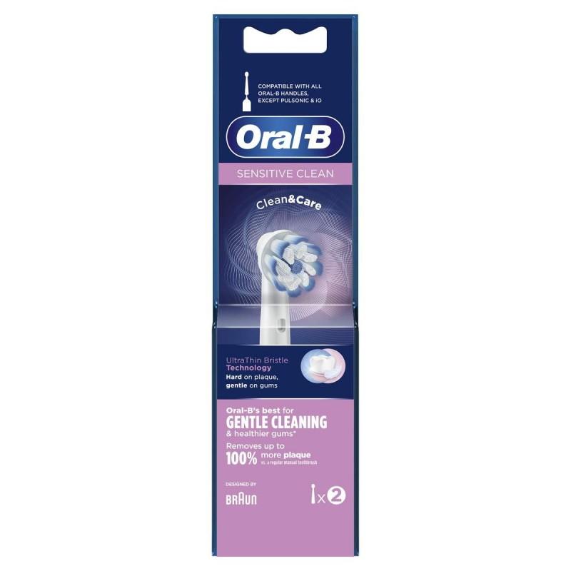 ORAL-B Sensi Ultrathin Testina di Ricambio X 2