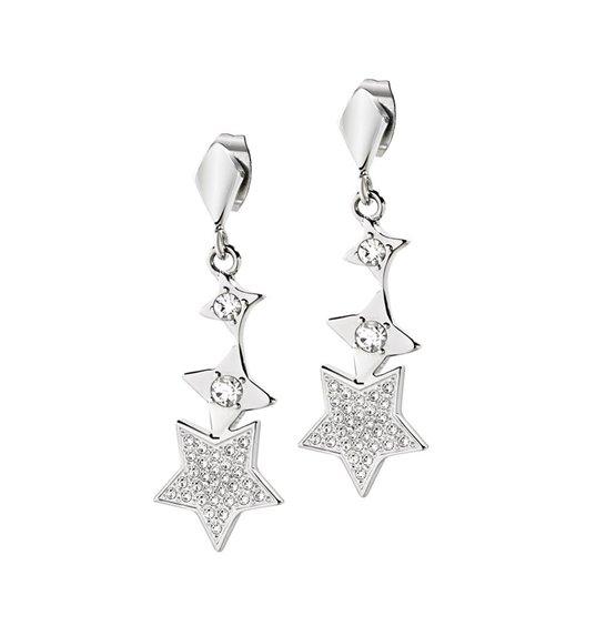 Orecchini pendenti con stelle Morellato Luci SACR13