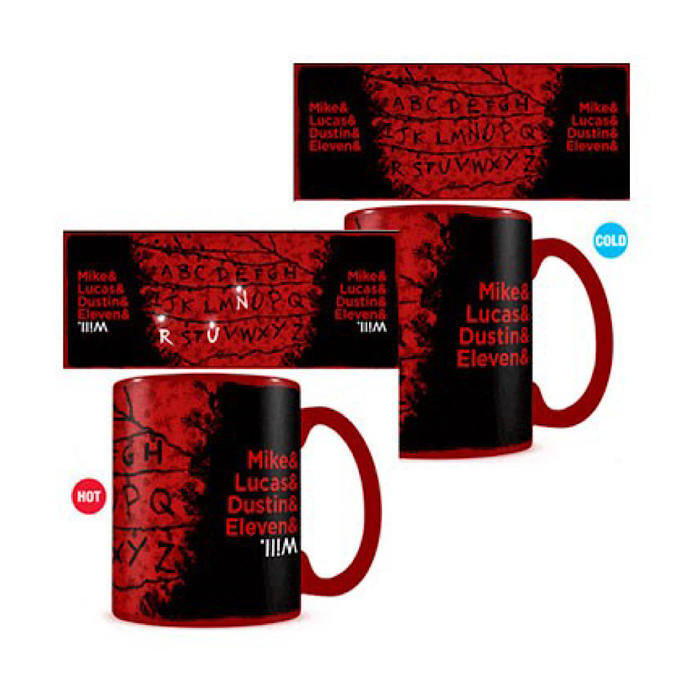 Tazza Stranger Things cambia colore