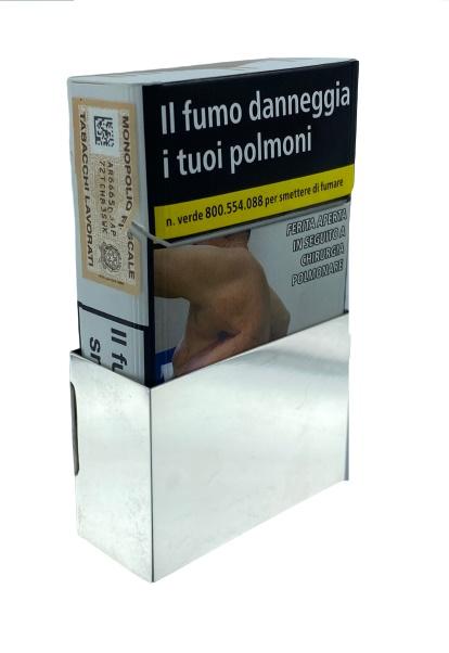 Porta pacchetto sigarette in argento 925