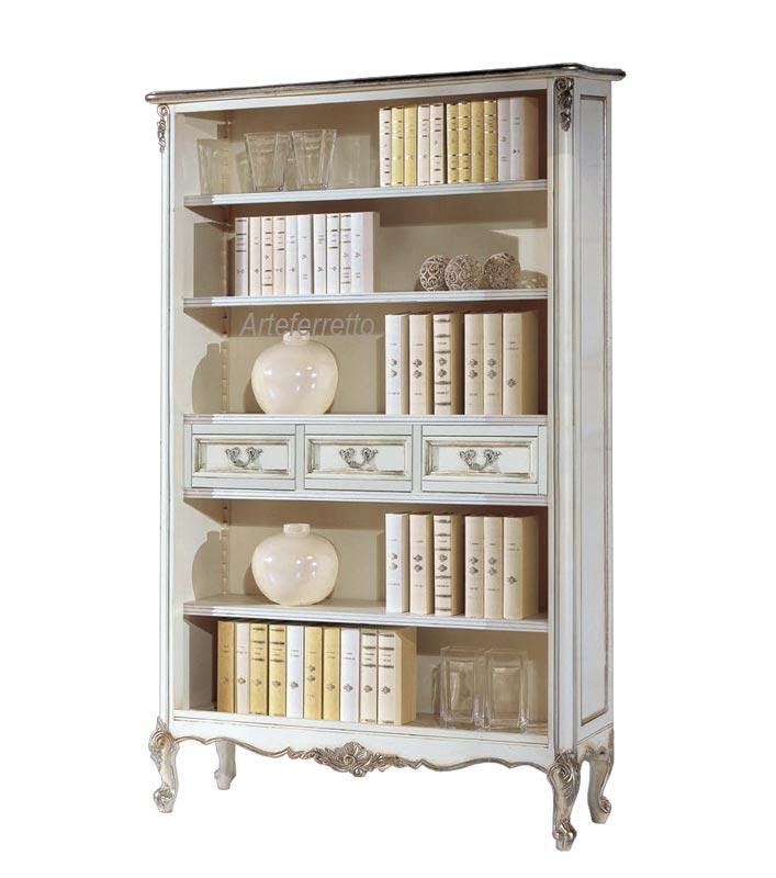 Großes Bücherregal im venezianischen Stil