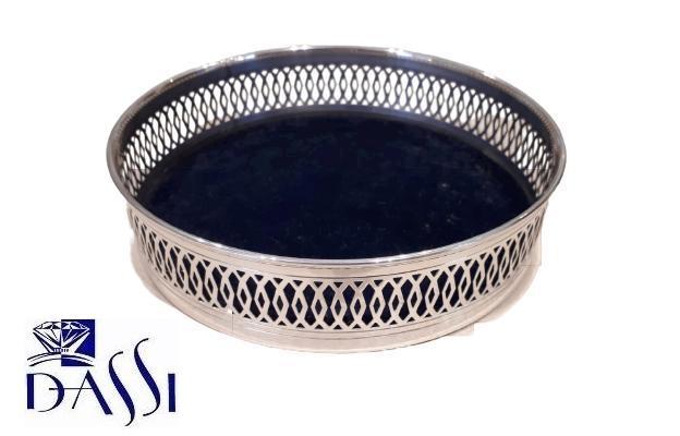 Vassoio vuotatasche in argento 925