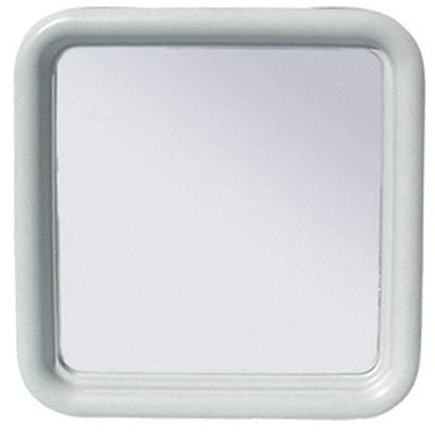 SPECCHIO QUADRO SILVIA CM. 50 x 50 SERIE IMMA Bianco
