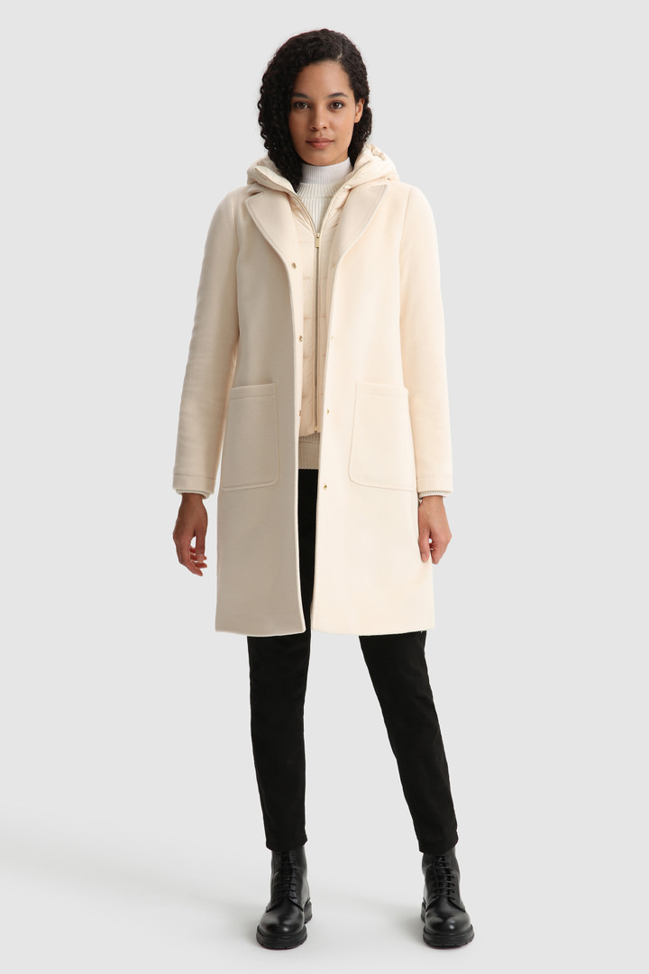 SHOPPING ON LINE WOOLRICH CAPPOTTO KUNA BITESSUTO  NEW COLLECTION  WOMEN'S FALL/WINTER 2022-2