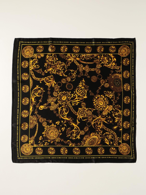 Foulard  di seta stampa  Baroque di Versace Jeans Couture