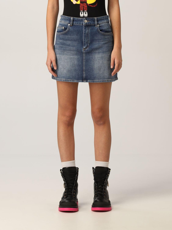 Minigonna di jeans Chiare Ferragni