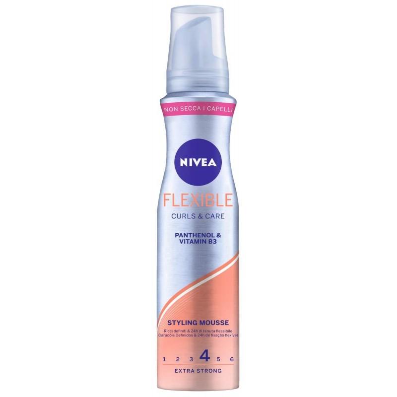 NIVEA Styling Mousse Flexible Curls & Care 150 ml