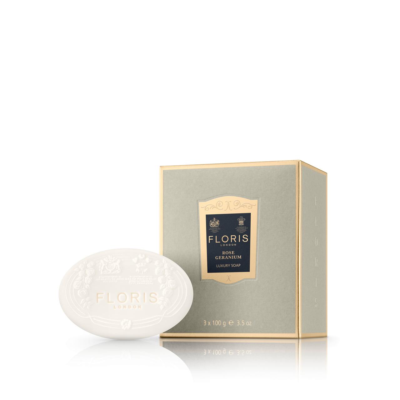 Rose Geranium - Toilet Soap - Classic Collection